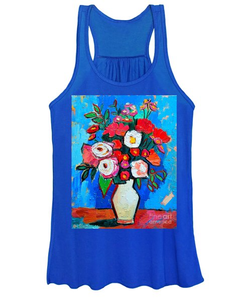 Flowers And Colors Women's Tank Top