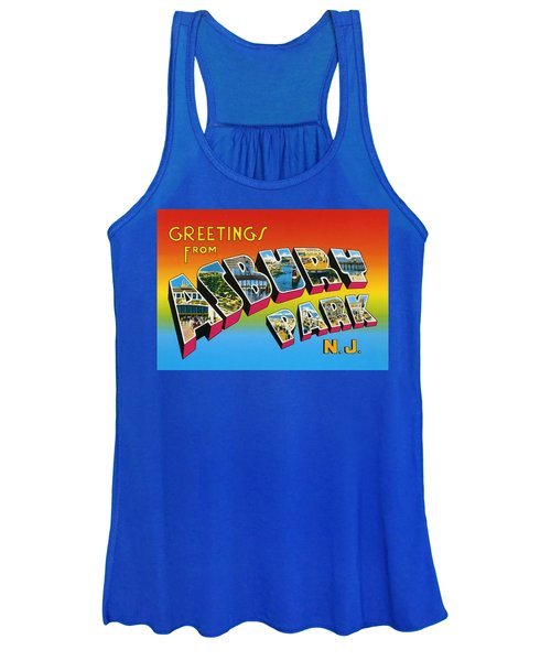 Greetings From Asbury Park Nj Women's Tank Top