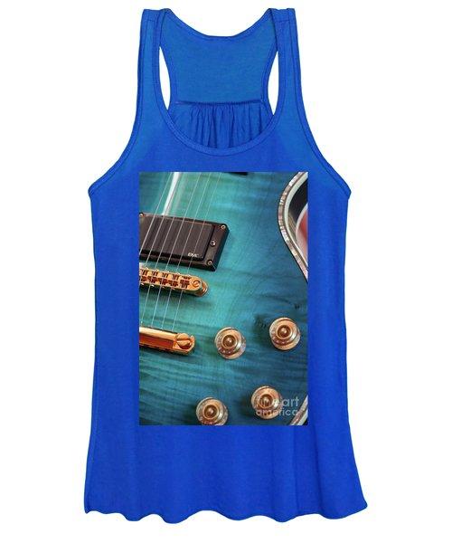 Guitar Blues Women's Tank Top