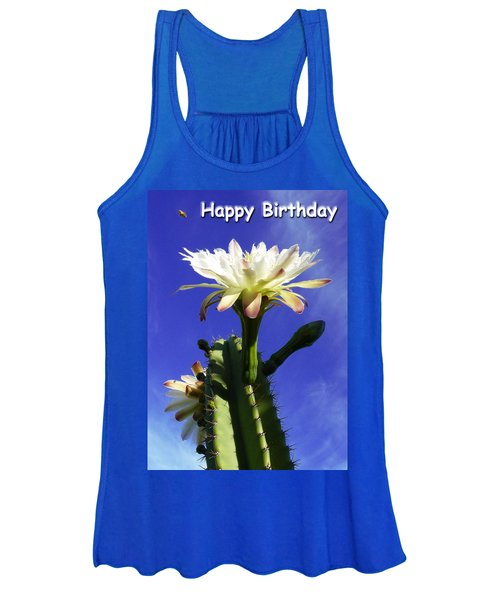 Happy Birthday Card And Print 11 Women's Tank Top