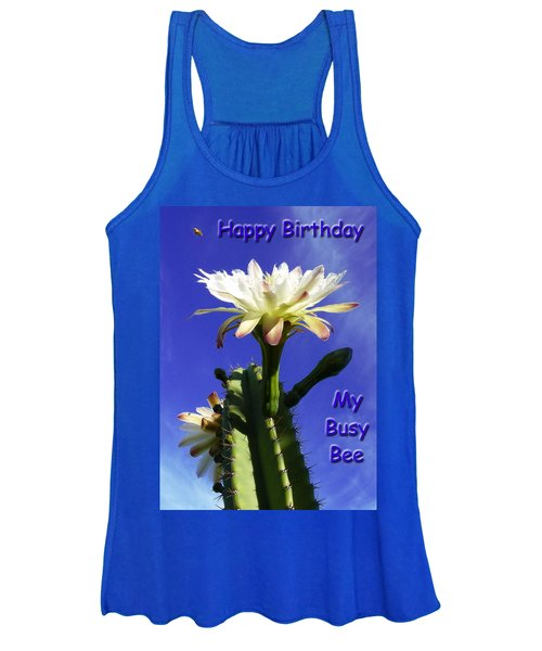 Happy Birthday Card And Print 13 Women's Tank Top