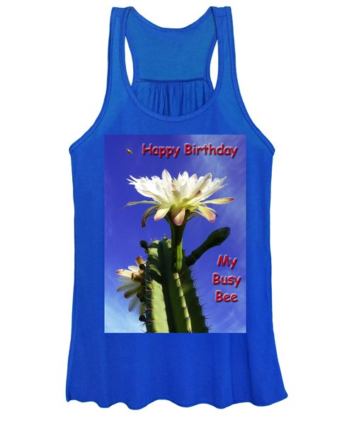 Happy Birthday Card And Print 15 Women's Tank Top