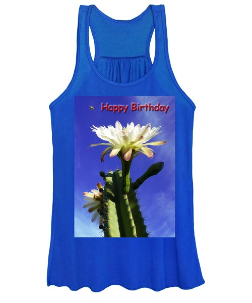 Happy Birthday Card And Print 16 Women's Tank Top