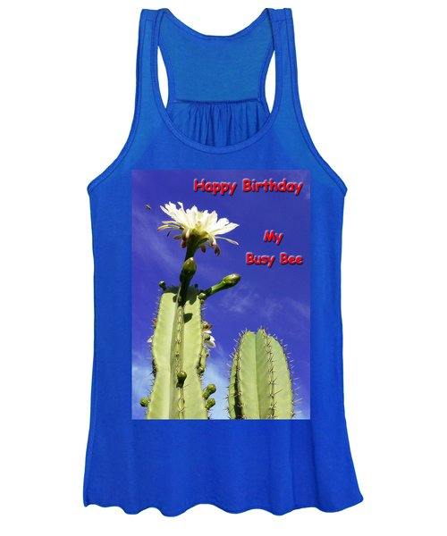 Happy Birthday Card And Print 21 Women's Tank Top