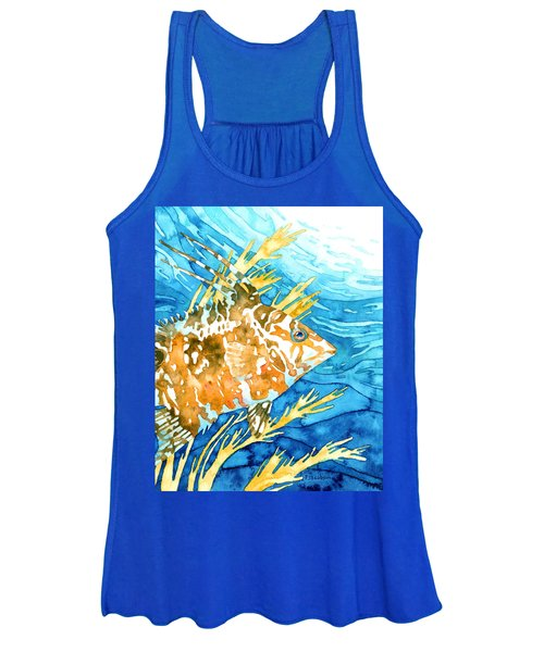 Hogfish Portrait Women's Tank Top