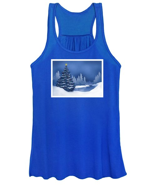 Icy Blue Women's Tank Top