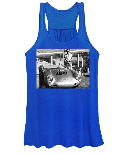 Last Picture Taken Of James Dean Women's Tank Top