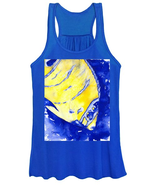 Juvenile Queen Angelfish Women's Tank Top