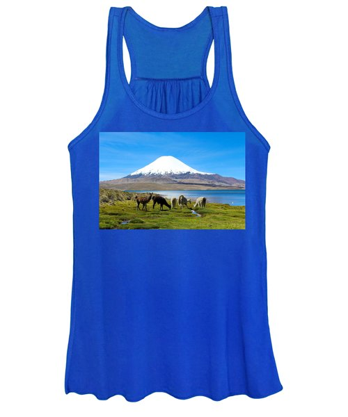 Lake Chungara Chilean Andes Women's Tank Top