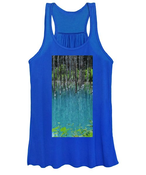Liquid Forest Women's Tank Top