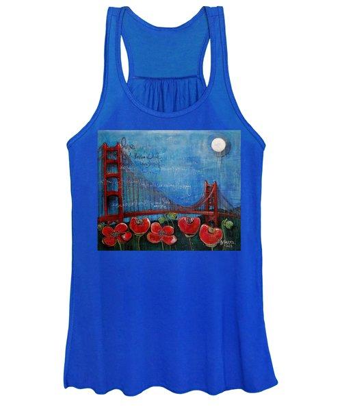 Love For San Francisco Women's Tank Top