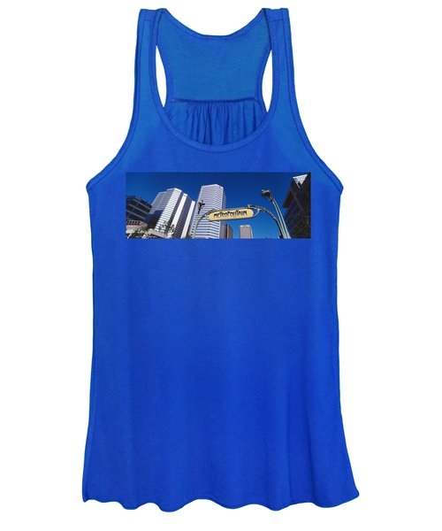 Low Angle View Of Buildings, Cite Women's Tank Top
