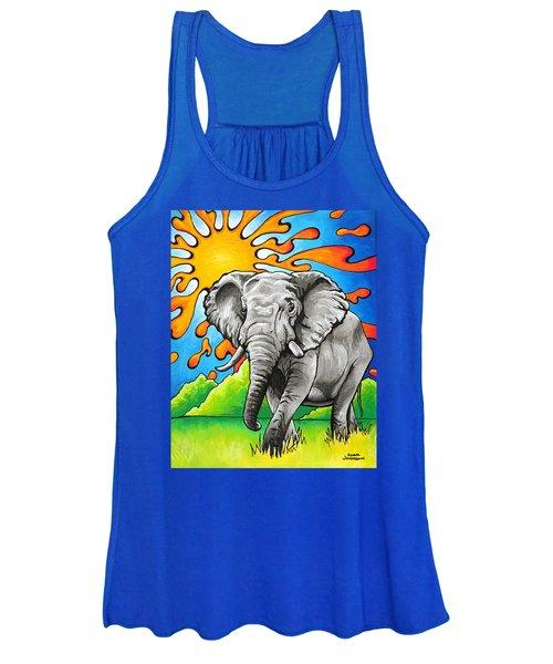 Majestic Elephant Women's Tank Top