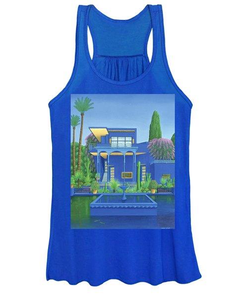 Majorelle Gardens, Marrakech Women's Tank Top