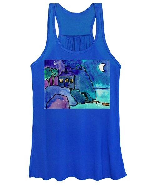 Night Harbor Women's Tank Top