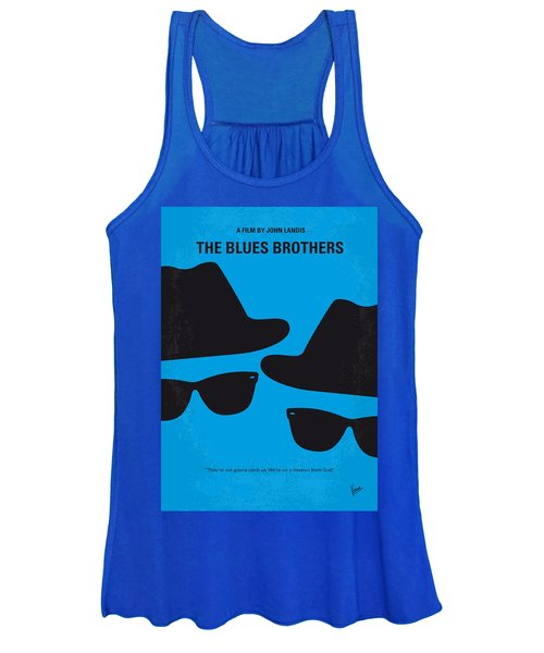 No012 My Blues Brother Minimal Movie Poster Women's Tank Top