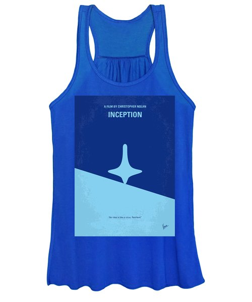 No240 My Inception Minimal Movie Poster Women's Tank Top