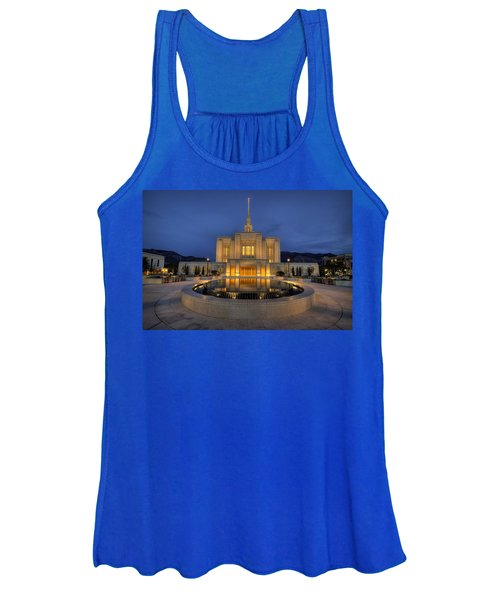 Ogden Temple Reflections Women's Tank Top