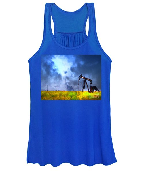 Oil Pump Field Women's Tank Top