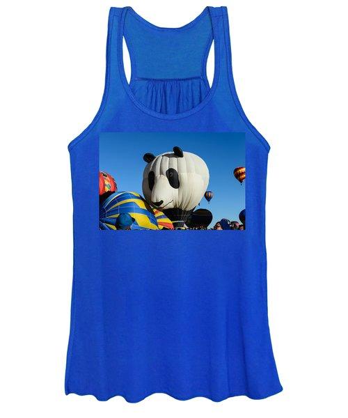 Panda Balloon Women's Tank Top