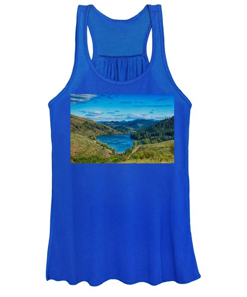 Patterson Lake In The Summer Women's Tank Top