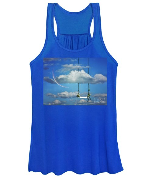 Playing In The Clouds Women's Tank Top