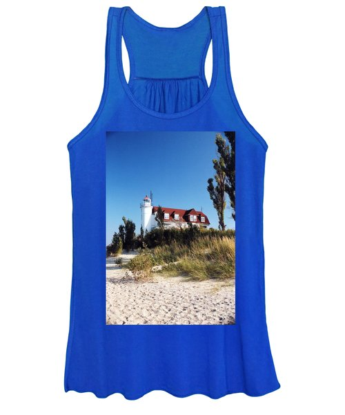 Point Betsie Lighthouse Women's Tank Top