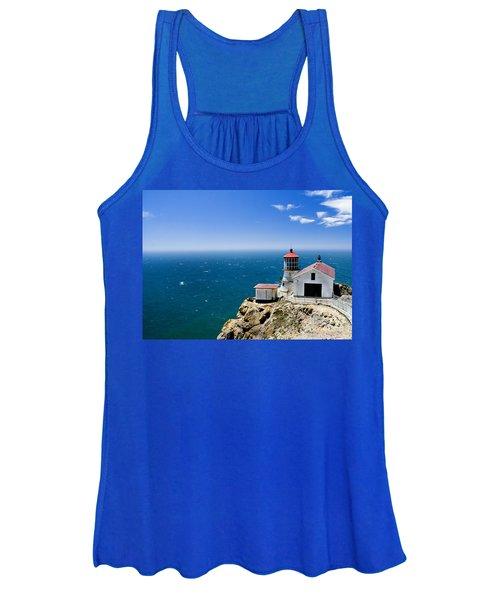 Point Reyes Lighthouse California Women's Tank Top