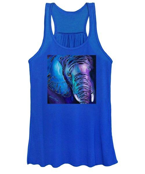 Purple Elephant Women's Tank Top