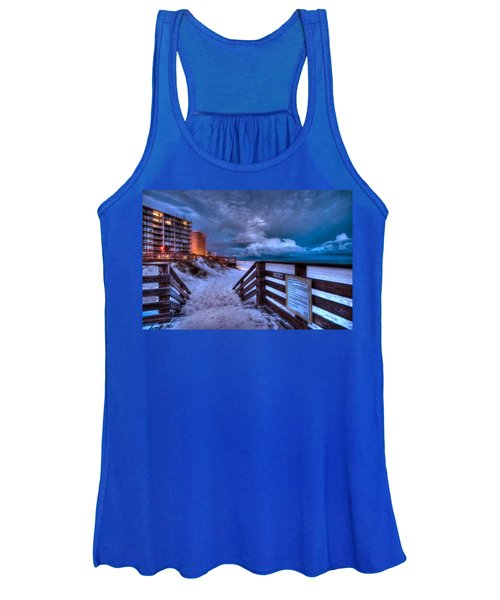 Romar Beach Clouds Women's Tank Top