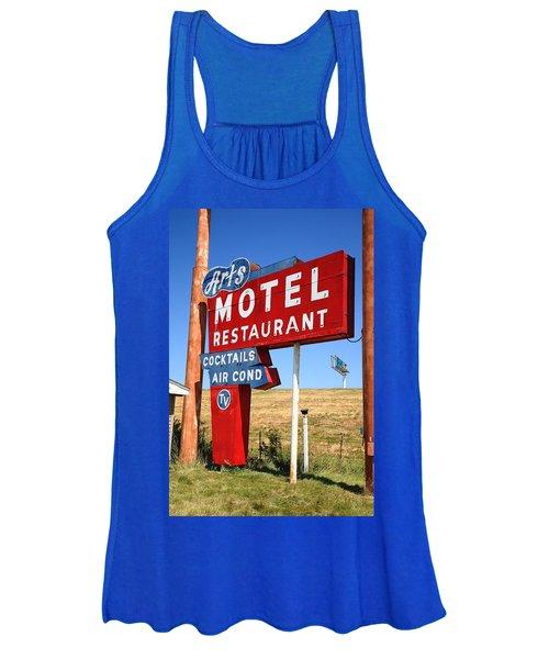 Route 66 - Art's Motel Women's Tank Top