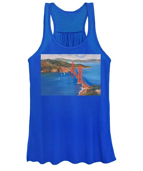 San Francisco Bay Bridge Women's Tank Top
