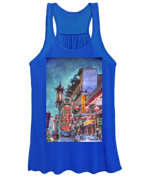 San Francisco Chinatown Women's Tank Top
