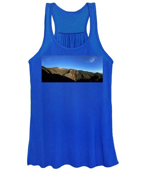 Sierra De Enmedia Mountains,north East Women's Tank Top