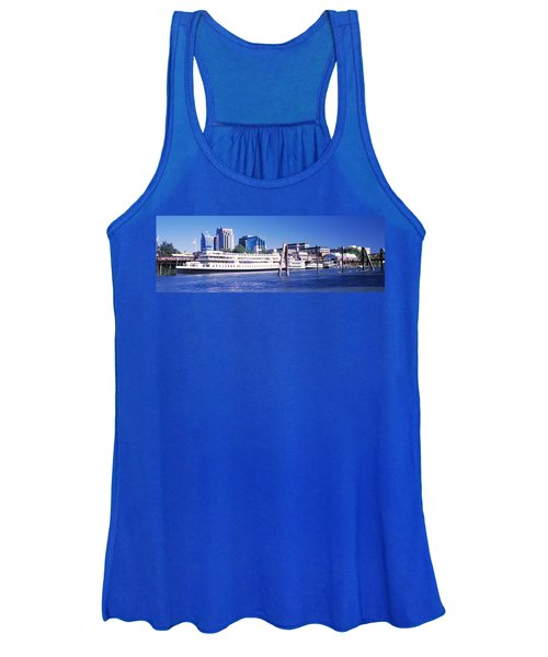 Skyscrapers At The Waterfront, Delta Women's Tank Top