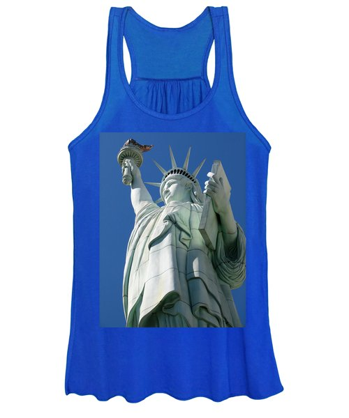 Statue Of Liberty Women's Tank Top