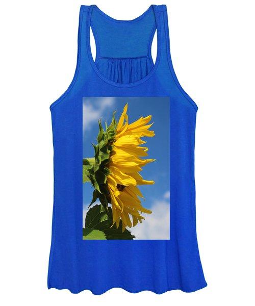 Sunflower Profile Women's Tank Top