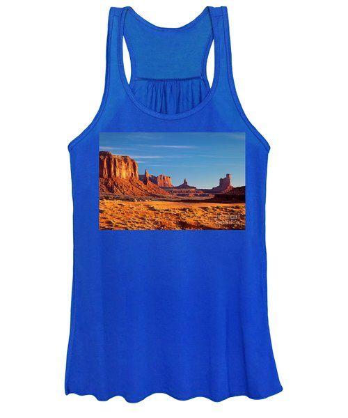 Sunrise Over Monument Valley Women's Tank Top