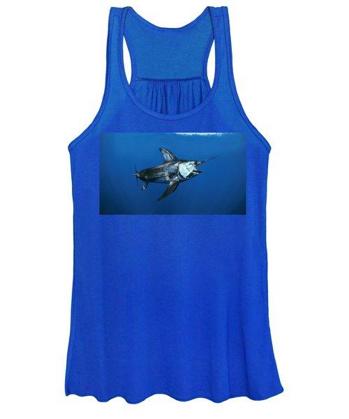 Swordfish In Open Ocean Women's Tank Top