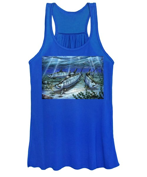 Tarpon In Paradise - Sabalo Women's Tank Top