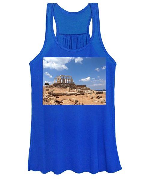 Temple Of Poseidon Women's Tank Top