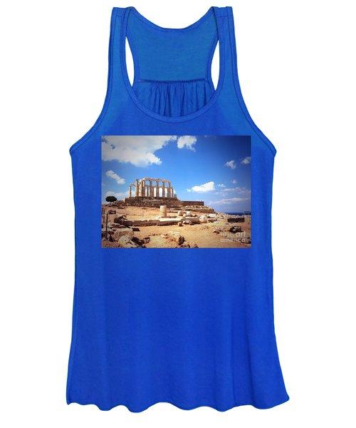 Temple Of Poseidon Vignette Women's Tank Top