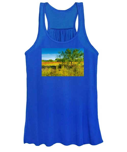 Texas Hill Country Wildflowers Women's Tank Top