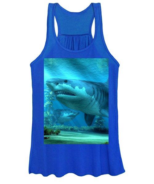 The Biggest Shark Women's Tank Top