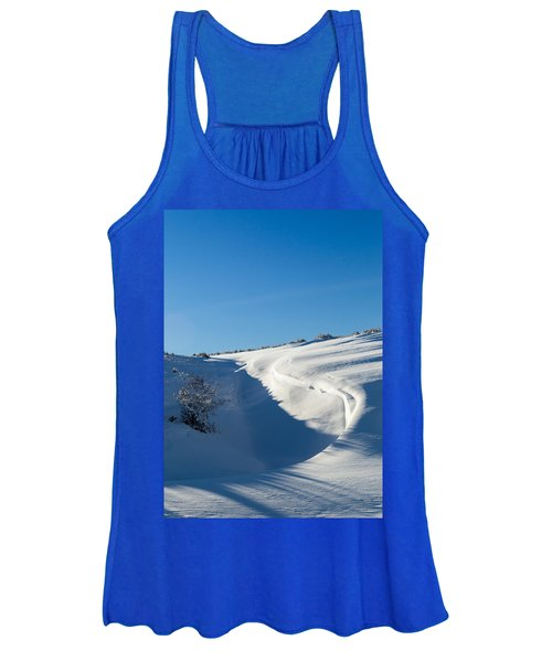 The Colors Of Snow Women's Tank Top