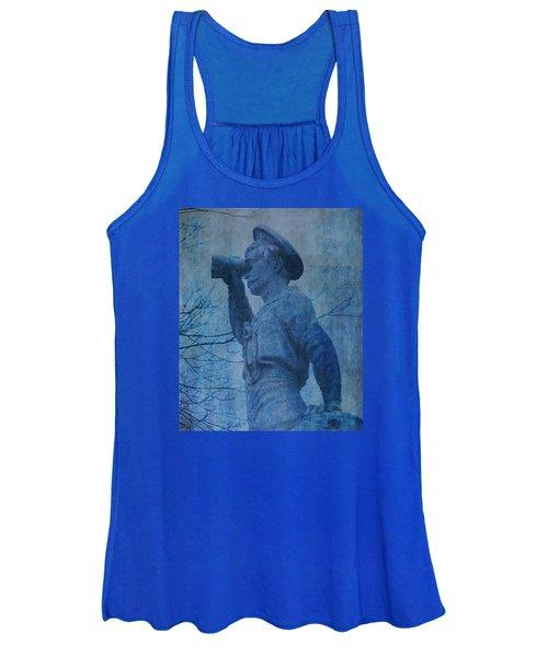 The Seaman In Blue Women's Tank Top