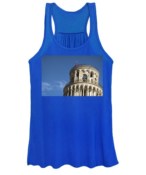 Top Of The Leaning Tower Of Pisa Women's Tank Top