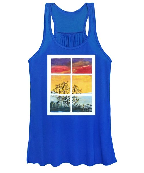 Tranquil View Women's Tank Top