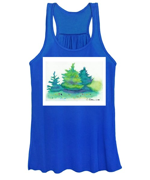 Trees 2 Women's Tank Top