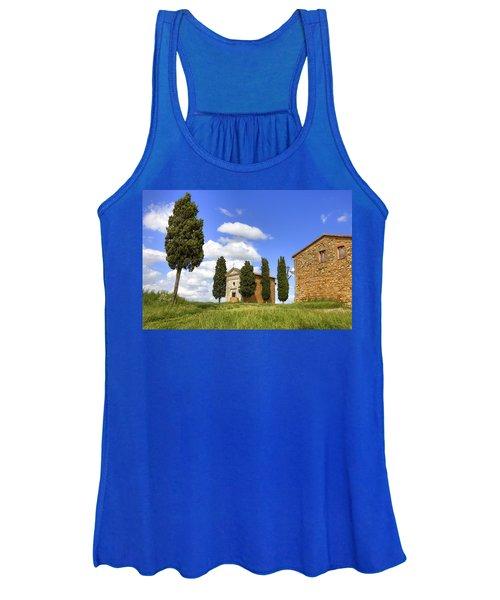 Tuscany - Cappella Di Vitaleta Women's Tank Top